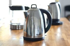 Stainless steel is durable, safe, and looks great. Why not grab a tea kettle made of it?