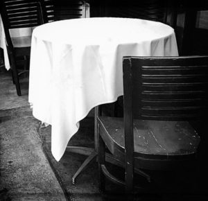 Tablecloths come in all shapes and sizes, but sticking to the classics can be the easiest option.