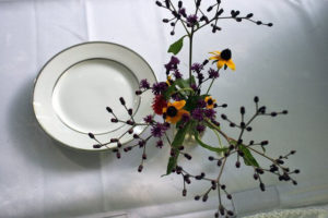 Protect your dining table with a beautiful, simple, everyday tablecloth.