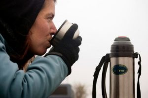 Take your nice, warm drink with you anywhere you go with the right flask!