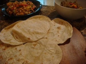Tortillas are always part of a delicious meal.