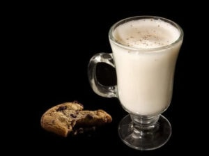 Warm milk is great to drink on its own or with a few spices as well!