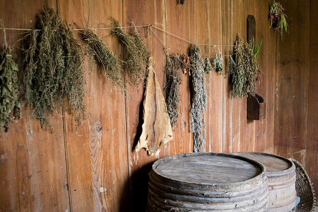 There are other ways to dry herbs... But I don't recommend them.
