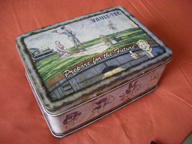 While this lunch box is eminently cool. It's not exactly for grown-ups. We can do better.