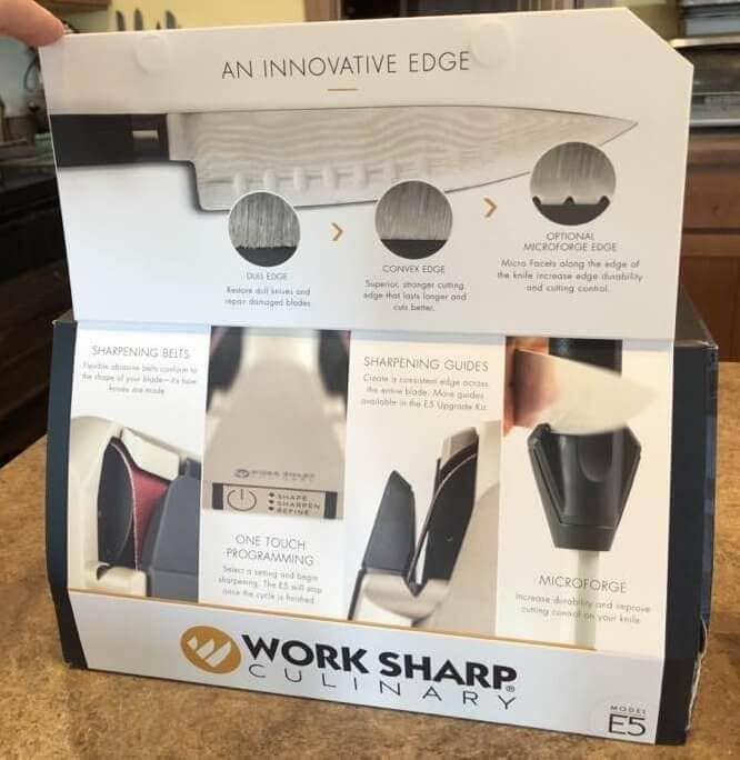 packaging of work sharp sharpener