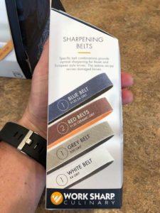 sharpening belts worksharp