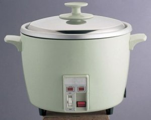 Mint Green Stainless Steel Rice Cooker