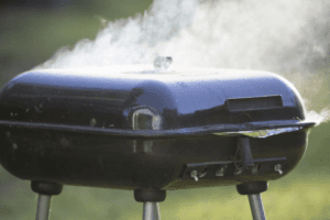 Smoker grills need to be shut while they smoke meat