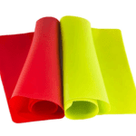 Red and Green Silicone Baking Mats