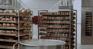 wooden bread cooling rack and metal bread cooling rack
