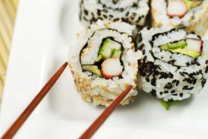 Urakami sushi piece