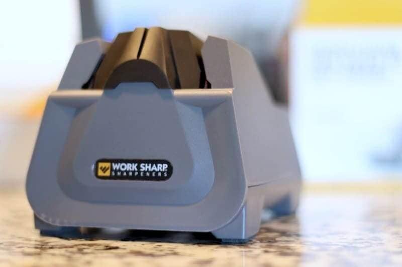 close up view of sharpener