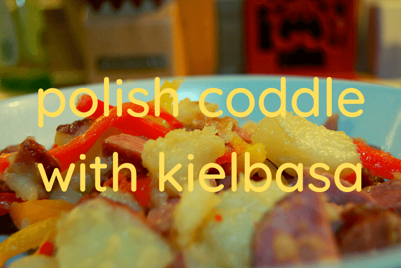 polish coddle with kielbasa